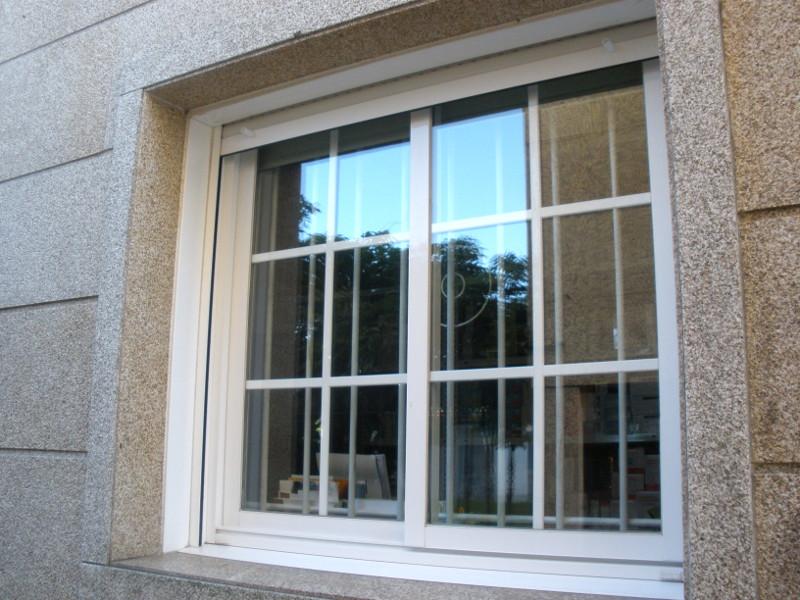 reja de forja para ventanas